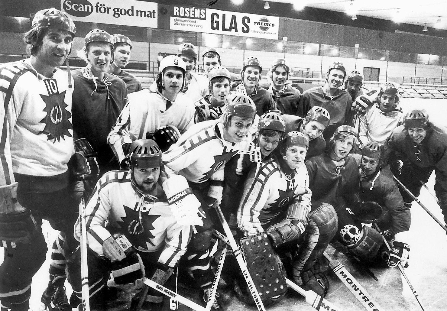 HV71:s första lag 1971