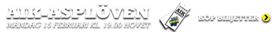 AIK-Asplöven Köp Biljett
