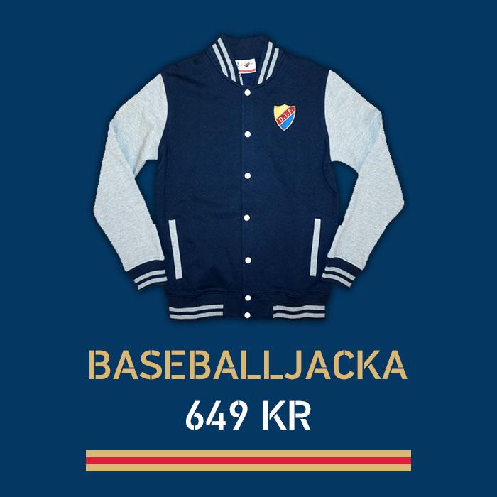 Baseballjacka 649 kr